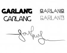 Логотип для магазина одежды GARLANG