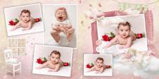 Дитяча фотокнига для дівчинки