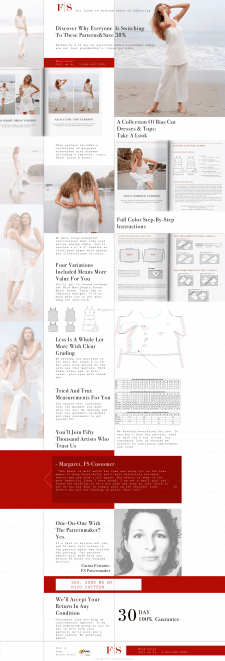 Landing page F|S