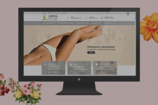 Сайт для салона красоты Opus