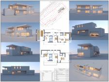 Проектное предложение дома в современном стиле