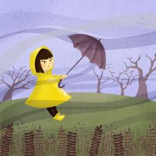 Смугастий вітер