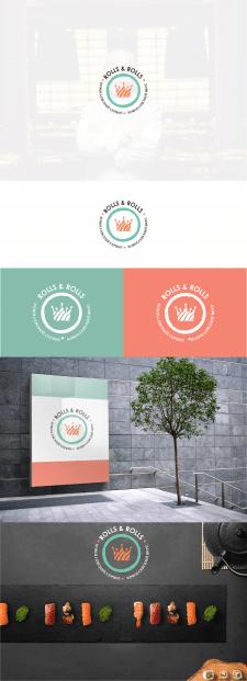 Логотип для компании по доставке суши