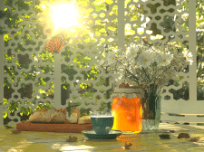 Натюрморт с мёдом