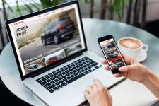Сайт дилера Honda в г. Ровно