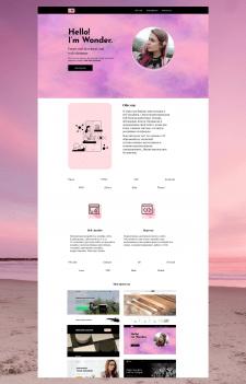 Landing-page для веб мастера