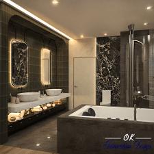 Ванная. Современный стиль.