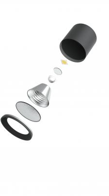 3d модель светильника
