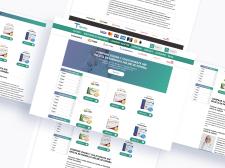 Концепт фармацептичного веб-сайту