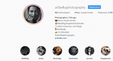 Таргетинг: FB +Instagram. Фотосессии (США, Чикаго)