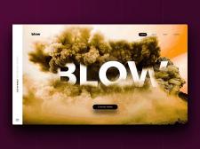Blow - Сайт визитка