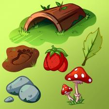 Лесные объекты