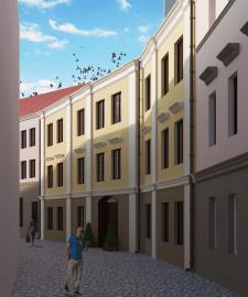 Проект дома-вставки