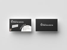 Дизайн визитки для детективного агентства