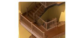 3D моделирование лестницы  в Solidworks