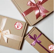 Логотип для сервиса подарков