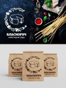 """Лого для мастерской сыра """"Власноруч"""""""