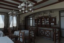 Столовая в гостиннице