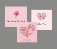Логотип цветочного салона