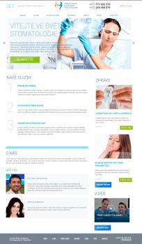Сайт для стоматологической клиники в Праге