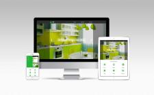 Сайт визитка Мебель Ua