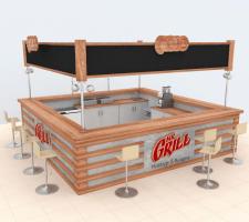 Визуализация 3D бар