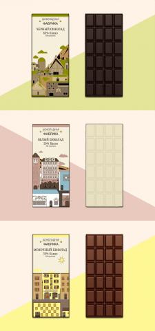 Создание дизайна упаковки шоколадок