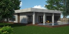 Одноэтажный дом 255 м²