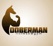 Logo Doberman Gym