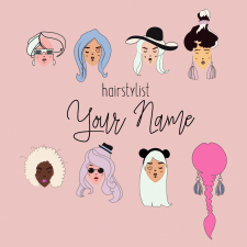 HairSylist Logo
