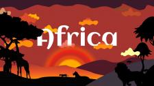 Иллюстрация - Солнечная Африка