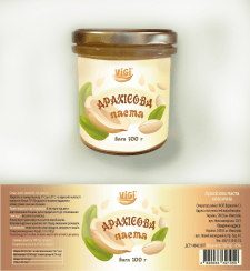 Редизайн этикетки для арахисовой пасты
