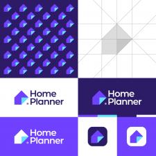 Modern House Logo