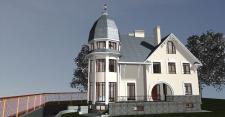 Проект дома,Стадия П.  Визуализация.
