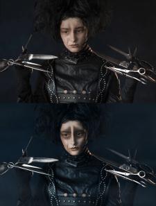 Портретная съёмка + обработка