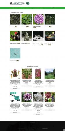 Создание сайта-каталога растений Hosta