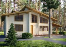 деревяный дом