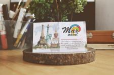 Визитка Max Travel