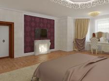 Спальня в частном доме01