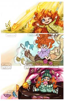 Книжная детская иллюстрация | book illustration