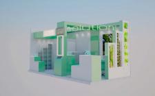 дизайн и моделирование выставочных стендов