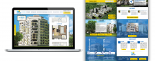 Дизайн сайта (жилой комплекс)