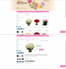 Описание товаров для интернет-магазина цветов