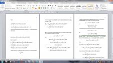 Набор текста с формулами (80%)
