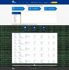 Верстка сайта под React разработку приложения