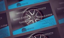 Faelg Fix Дизайн визитки