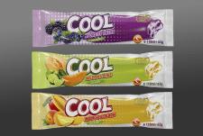 дизайн линейки вкусов мороженого
