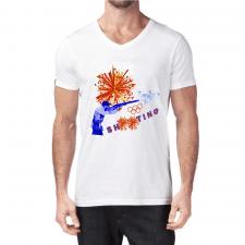 """Дизайн футболки """"Стендовая стрельба"""""""