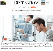 Scientific Developments in Ukraine