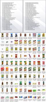 Поиск фотографий продуктовых товаров